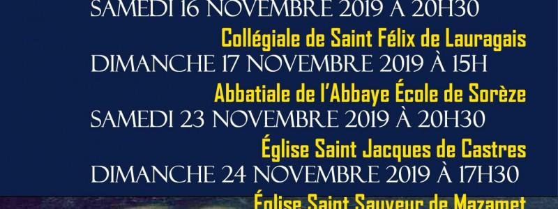 Dates et lieux